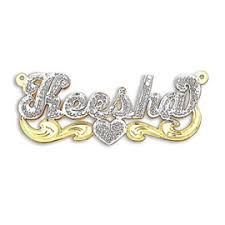 gold name plates solid gold name necklace nameplate necklace