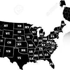 vector usa map free usa map vector map of usa