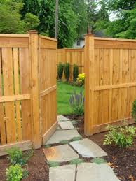 backyard fence gate home outdoor decoration