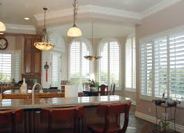 Window Treatments For Kitchen by Custom Interior Faux U0026 Real Wood Window Shutters From Danmer