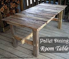 making a dining room table pallet dining room table lone star farmstead