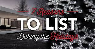 tom ferry 7 reasons to list during the holidays