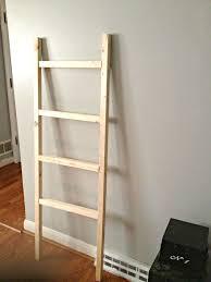 diy blanket super easy diy blanket ladder hometalk