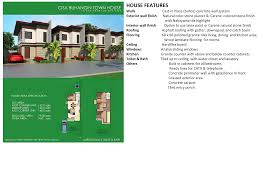 4 bedroom townhouse buhangin cisa model davao property finder