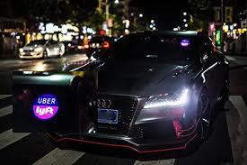lyft light up beacon uber lyft led light sign logo sticker decal glow wireless decal