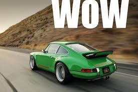 old porsche 911 recycled hawtness classic porsche 911 resto mod by singer gas 2