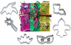 mardi gras cookie cutters 6 pc mardi gras cookie cutter set l9020 kitchen dining