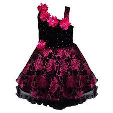 wish karo baby girls party wear frock dress dn fe1102pnk at