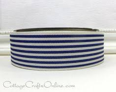 navy blue wired ribbon burlap wired ribbon 2 1 2 wide navy blue three yards offray
