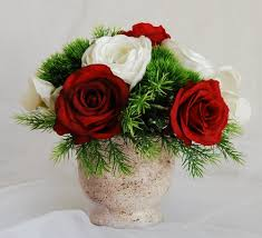artificial floral arrangements silk floral arrangement faux red roses artificial white hydrangeas