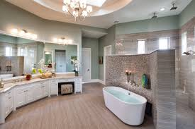 Bathroom Walk In Showers Walk Through Showers 14 Dazzling Design His And Walkthrough Shower Wow Look At The Size Of That Jpg