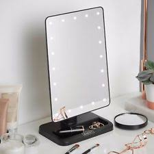 Tabletop Vanity Mirror With Lights Table Top Vanity Mirror Ebay