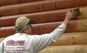 perma systems log home chinking log stain and finish