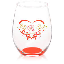 custom 15 oz arc perfection stemless etched wine glasses u2013 from