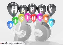 sprüche zum 55 geburtstag geburstagskarte happy birthday mit jahreszahl