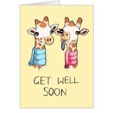 card for sick person do your sick friends like foxes them with this adorable