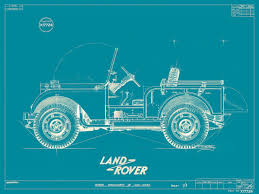 Land Rover On The Drawing Board West County Explorers Club