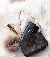 ysl lipstick chanel wallet and louis vuitton bag chanel