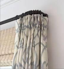Return Rod Curtains Return Curtain Rod Custom Cut Iron Curtain Rod