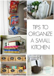 organize home tips to organize a small kitchen jpg