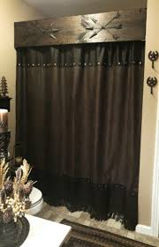 Vintage Cowboy Curtains by Western Themed Shower Curtains Pmcshop
