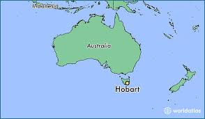 map of tasmania australia where is hobart australia hobart tasmania map worldatlas