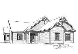 narrow lot home plans house plan w3284 cig1 detail from drummondhouseplans