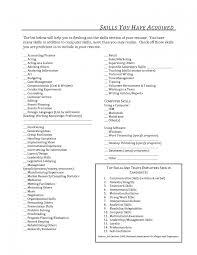 Job Resume Communication Skills by Job Resume Skills Examples Splixioo