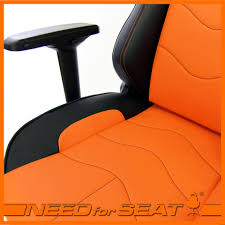 Orange Chair by Maxnomic Computer Gaming Office Chair Leader Needforseat Usa