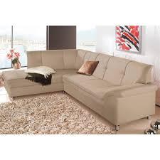canapé microfibre angle canapé angle fixe microfibre beige autres mobilier 3suisses
