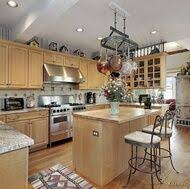 Light Oak Kitchen Cabinets Traditional Light Wood Kitchen Cabinets 132 Crown Point Com