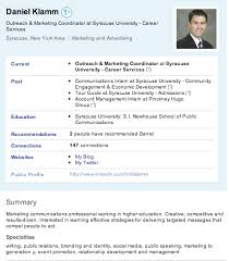 How To Put Resume On Linkedin A Really Helpful Article On How College Students Should Utilize