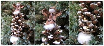 how to make a pine cone tree ornament belznickle
