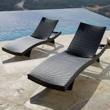 Chaise Outdoor Lounge Chairs Portofino Comfort Chaise Lounges Espresso Rst Brands