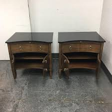 hickory chair side tables hickory chair lancaster side tables a pair chairish
