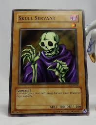 yugioh legend of blue eyes white dragon lob 004 skull servant