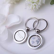 wedding favor keychains 50pcs personalized wedding favor keychain customized birthday