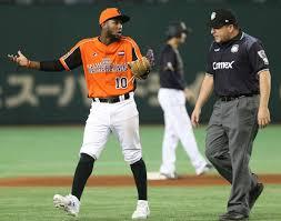 japanese superhero shohei otani hit a baseball straight through