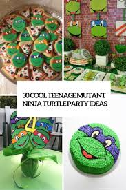 30 cool teenage mutant ninja turtles party ideas shelterness cool teenage mutant ninja turtle party ideas cover
