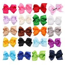 different types of hair bows hair accessories clothing for baby
