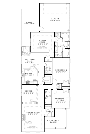 narrow house plans with garage hawkins corner narrow lot home plan 055d 0869 house plans and more