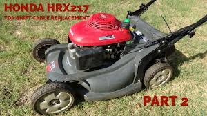 honda hrb216 lawn mower repair blade clutch alameda repair shop