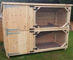 Double Rabbit Hutches Boyle U0027s Pet Housing St Helens Reporter