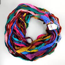 sari silk ribbon sari silk ribbon recycled silk sari ribbon multi color ribbon
