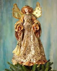 Christmas Decorations Angel Tree Topper by Christmas Ornaments At Horchow