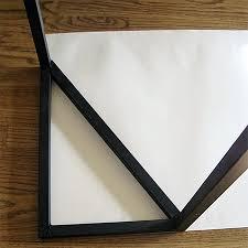 How To Make A Window Awning Frame Home Dzine Home Diy How To Make A Decorative Door Or Window Awning