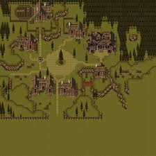 Final Fantasy 6 World Map by The Spriters Resource Full Sheet View Final Fantasy 6