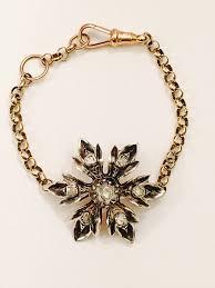 diamond flower bracelet images Lisa de bidaph antique vintage jewellery bespoke charm necklaces jpg