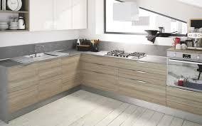 cuisine bois flotté facade cuisine en bois brut inspirations avec enchanteur facade