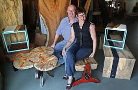 Build A Solid Wood Table Top Local Woodworking Clubs Wooden Table by Tampa Bay Woodworkers Use Local Trees To Make Furniture And Art